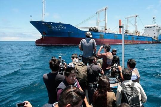 Thảm họa môi trường từ đội tàu cá Trung Quốc