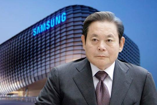 Cổ phiếu nhiều công ty con Samsung tăng khi chủ tịch qua đời, người thừa kế có nguy cơ đi tù