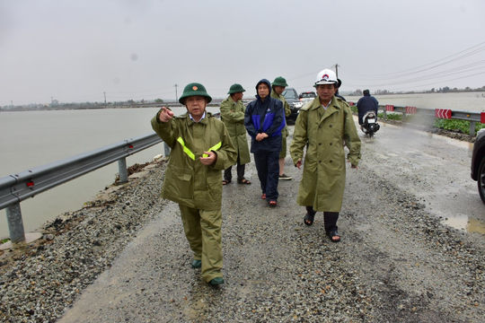 Thừa Thiên – Huế gấp rút lên kế hoạch ứng phó bão số 9