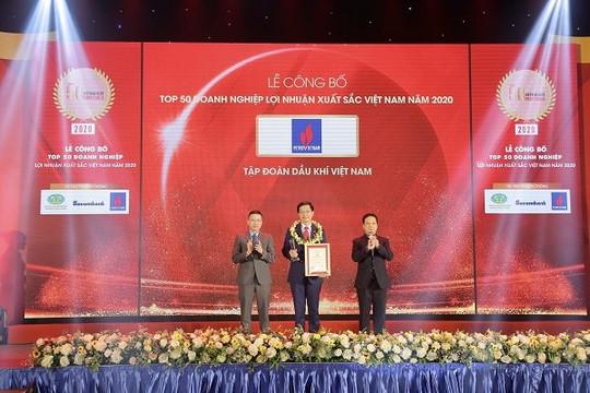 """Petrovietnam: Vượt """"khủng hoảng kép"""", duy trì vị trí dẫn đầu các doanh nghiệp lợi nhuận tốt nhất Việt Nam"""