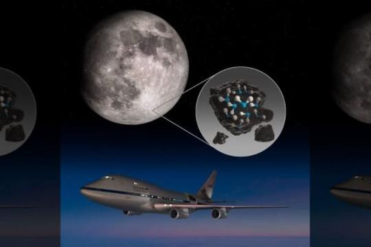 NASA công bố phát hiện nước trên bề mặt Mặt trăng