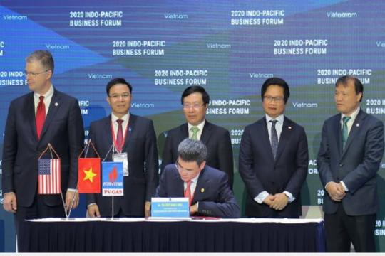 Việt Nam - Mỹ ký hai thỏa thuận điện khí gần 6 tỉ USD