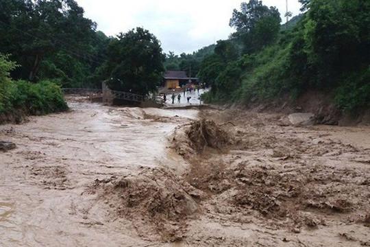 Cảnh báo lũ quét, sạt lở đất và ngập úng cục bộ từ Hà Tĩnh đến Khánh Hòa và khu vực Tây Nguyên
