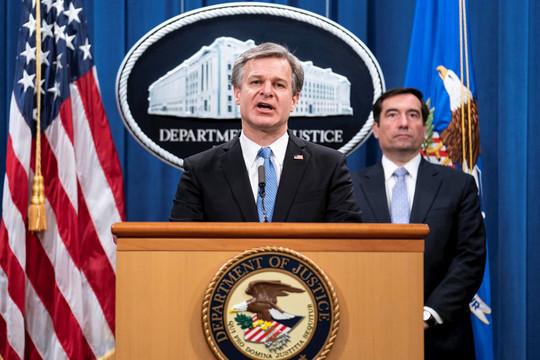 """Mỹ truy tố 8 người liên quan """"chiến dịch Săn cáo"""" của Trung Quốc"""