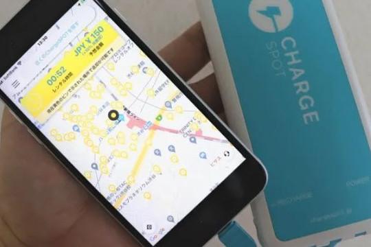 Bùng nổ dịch vụ cho thuê pin để sạc smartphone với đủ dây kết nối