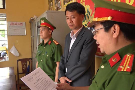 Bắt giam nguyên Trưởng phòng Tài nguyên Môi trường TP Huế