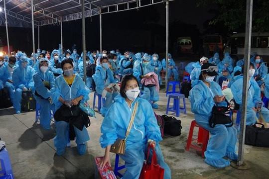Sóc Trăng: 176 công dân Việt Nam về từ Đài Loan hoàn thành cách ly