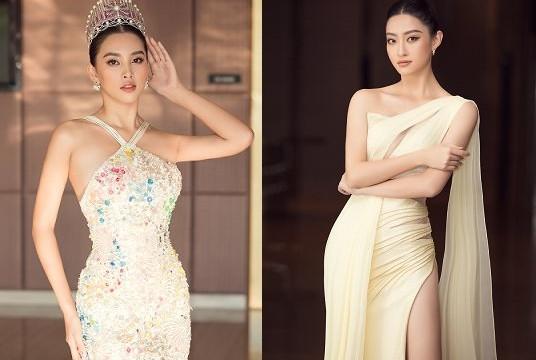 3 nàng hậu đọ sắc trong buổi họp báo chung kết Hoa hậu Việt Nam 2020