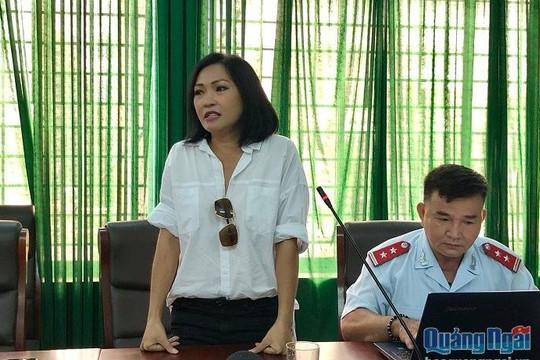 Quảng Ngãi yêu cầu Phương Thanh có câu 'trả lời thỏa đáng' và gỡ bài viết xúc phạm người dân