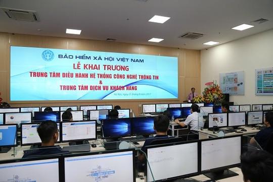 BHXH Việt Nam lần thứ 3 liên tiếp đứng đầu về ứng dụng CNTT