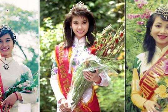 Chuyện ít ai biết về 3 hoa hậu toàn quốc đầu tiên của Việt Nam