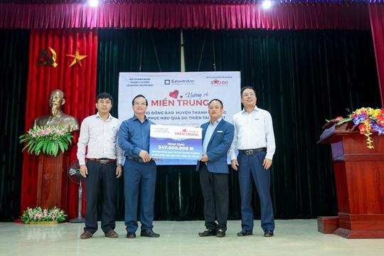 Nghệ An, Quảng Bình tiếp nhận hơn 1.700 suất quà doanh nghiệp ủng hộ