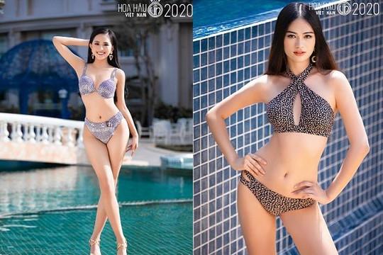 Các thí sinh top 35 Hoa hậu Việt Nam 2020 khoe đường cong quyến rũ với bikini