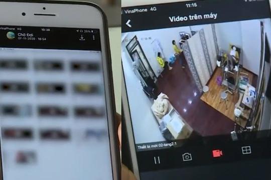 Clip lập nhóm Zalo rao bán tài khoản camera nhà riêng, spa và phòng khám phụ khoa