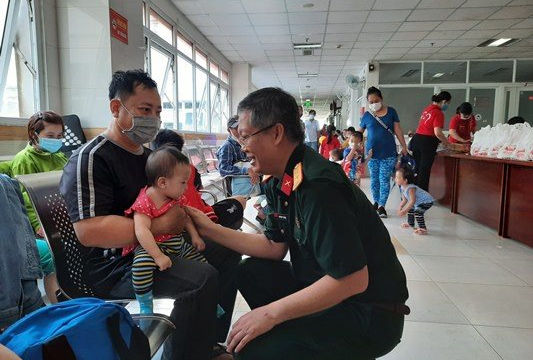 Bệnh viện Nhi Đồng Cần Thơ khám tim miễn phí cho trẻ em