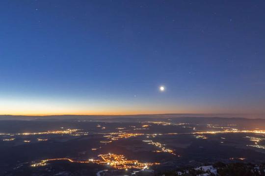 Sao Mộc và sao Thổ sẽ ở gần nhau nhất sau 800 năm vào tháng 12