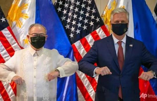 Mỹ cung cấp tên lửa, tái cam kết bảo vệ Philippines ở Biển Đông