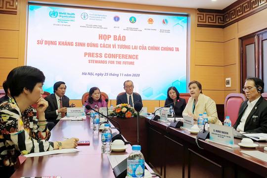 Việt Nam có tỷ lệ kháng thuốc kháng sinh cao, Bộ Y tế tăng cường phòng chống