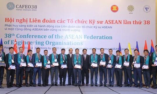 Thêm 44 kỹ sư của EVNHCM được nhận chứng chỉ Kỹ sư chuyên nghiệp ASEAN