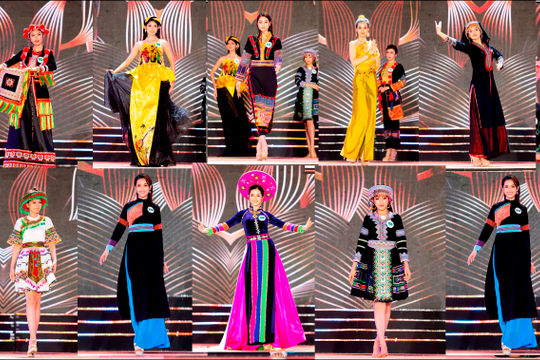 Bán kết Miss Tourism Vietnam 2020: Ngắm dung nhan 30 thí sinh trong trang phục dân tộc