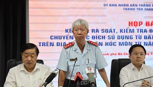 TP.HCM: Điều tra vụ 1.386 hồ sơ sai phạm đất đai ở Hóc Môn