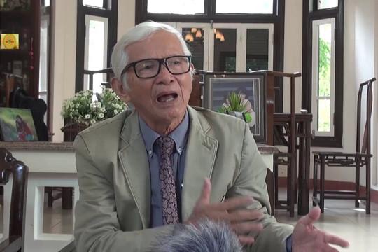 Ông Nguyễn Đắc Xuân nói về sự ra đời của Hội Nghiên cứu & Phát triển Di sản văn hóa Huế