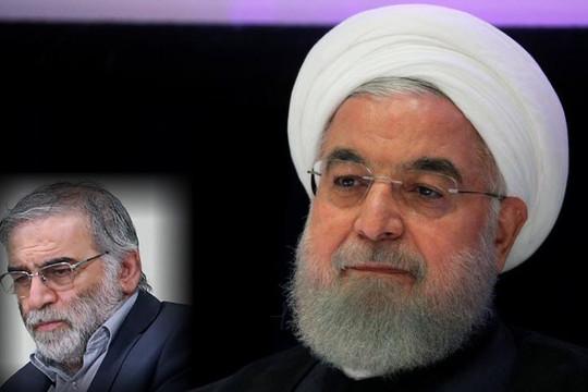 Tổng thống Iran tuyên bố Israel ám sát trùm dự án hạt nhân