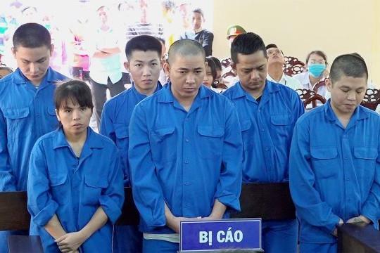 An Giang: 81 năm tù dành cho 6 bị cáo mua bán trái phép chất ma túy