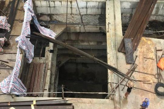 Thủ tướng yêu cầu kiểm tra cấp giấy phép nhà 4 tầng hầm của thiếu tướng, Thanh tra Sở Xây dựng lại xác minh lún, nứt