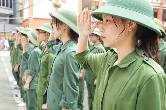 Giáo dục quốc phòng và an ninh là môn học chính khóa ở cấp THPT