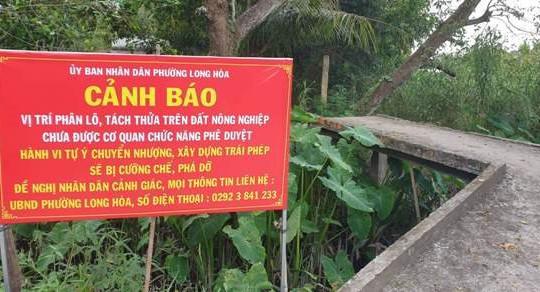 Cần Thơ: Khởi tố cựu Phó chủ tịch Q.Bình Thủy vì sai phạm đất đai