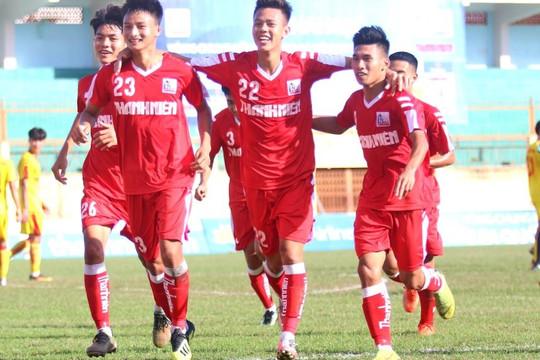 VCK U.21 Quốc gia: Thắng CAND 3-0, Nam Định đặt một chân vào bán kết