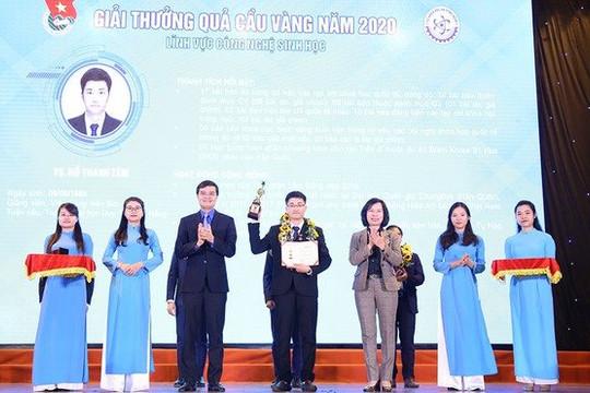 10 nhà khoa học trẻ xuất sắc nhận giải thưởng 'Quả cầu vàng'
