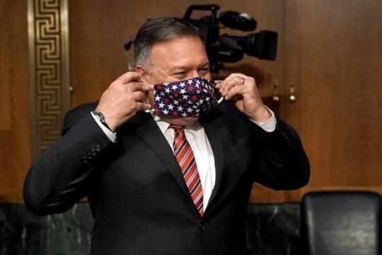 Ngoại trưởng Mỹ Mike Pompeo phải cách ly vì tiếp xúc người nhiễm COVID-19