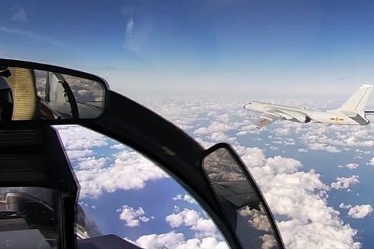 Tuần tra chung làm lộ điểm yếu của máy bay ném bom Trung Quốc