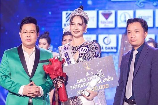 Cuộc thi Hoa hậu doanh nhân sắc đẹp Việt 2020 không có giấy phép, Cục NTBD lên tiếng