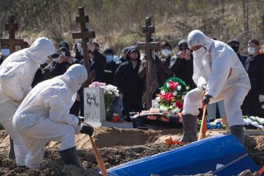 Số người chết vì COVID-19 tại Nga gấp ba lần công bố