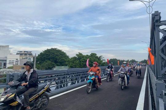 TP.HCM thông xe cầu thép thay thế phà An Phú Đông