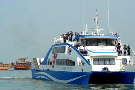 Phà biển Cần Giờ – Vũng Tàu hoạt động, di chuyển chỉ mất 30 phút