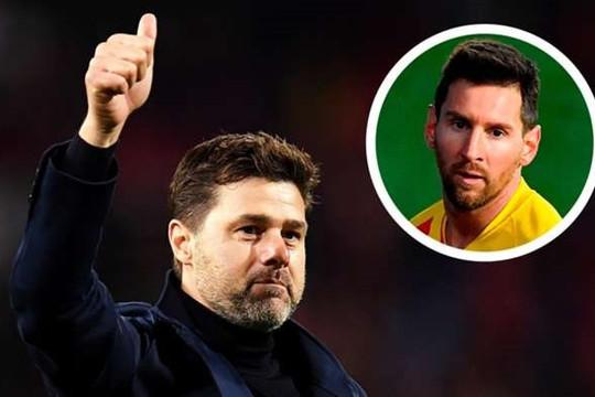 Pochettino chào đón Messi đến PSG sau tuyên bố gây sốc của Ramos