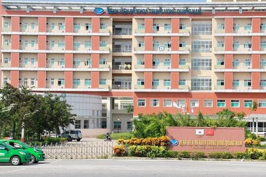 Bắt Trưởng khoa Nội tim mạch và 2 điều dưỡng Bệnh viện đa khoa T.Ư Quảng Nam