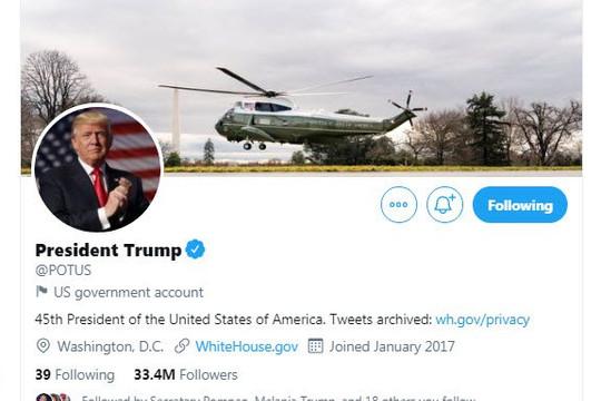 Tweet bằng tài khoản chính phủ cũng bị Twitter xóa, Trump xem xét lập mạng xã hội riêng