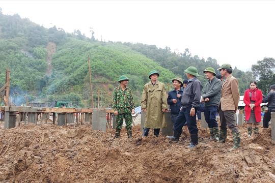 Người dân Trà Leng sẽ có nhà mới trước Tết Nguyên đán