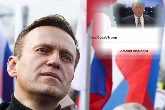 Thủ lĩnh phe chống ông Putin bức xúc vì Twitter cấm vĩnh viễn tài khoản Trump