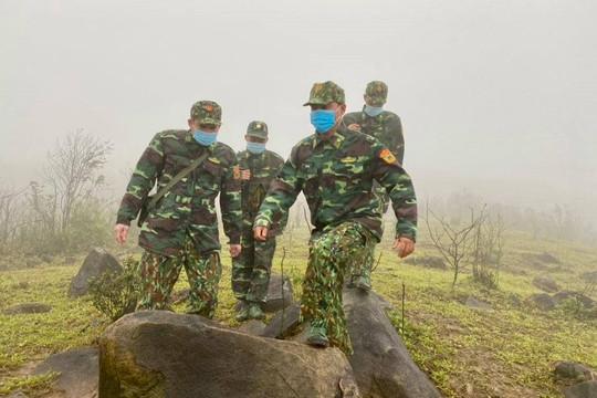 Lạnh về miền Trung, Đốt lửa sưởi ấm để bảo vệ biên giới Quốc gia