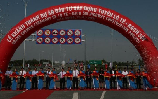 Chính thức khánh thành tuyến Lộ Tẻ - Rạch Sỏi với tổng đầu tư hơn 6.000 tỉ đồng