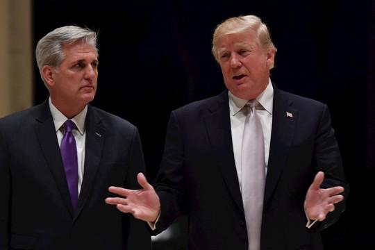 'Ông Trump thừa nhận chịu một số trách nhiệm về cuộc bạo loạn, đổ lỗi cho Antifa'