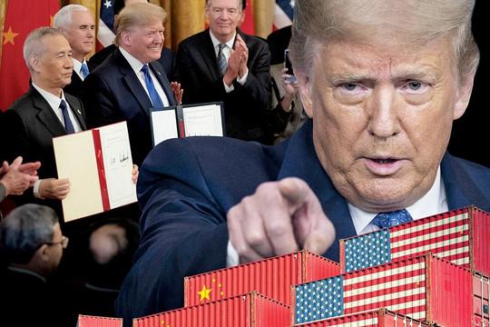 Chiến tranh thương mại Mỹ - Trung: Lời hứa của ông Trump và thực tế nhìn lại
