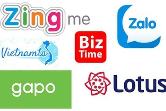 Tăng số lượng tài khoản người dùng mạng xã hội Việt Nam