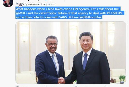 Trung Quốc ngoan cố, WHO chịu áp lực khi điều tra nguồn gốc COVID-19 vì tweet từ Ngoại trưởng Mỹ